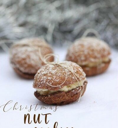 nut christmas cookies