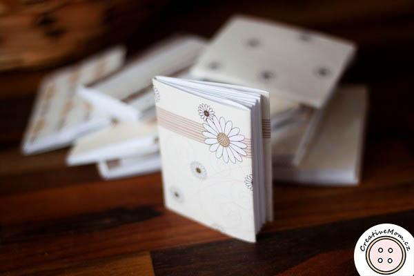origami mini book