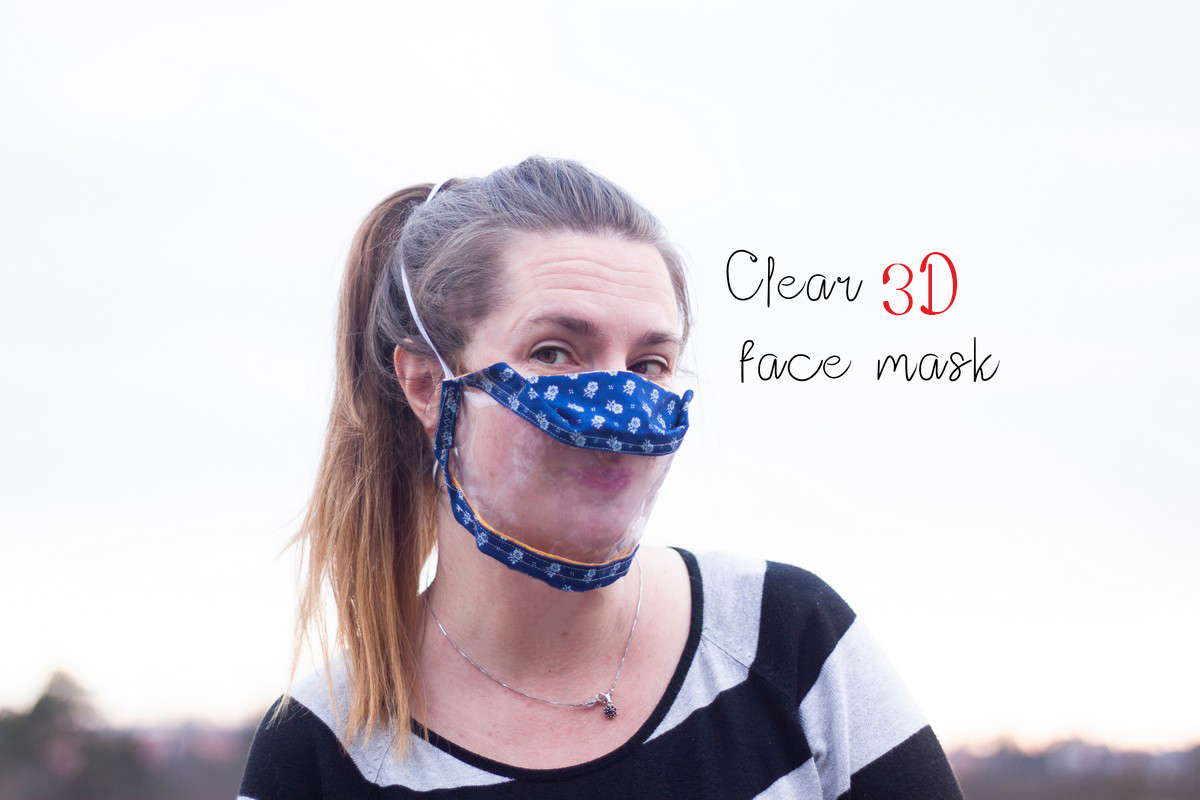 clear 3d mask