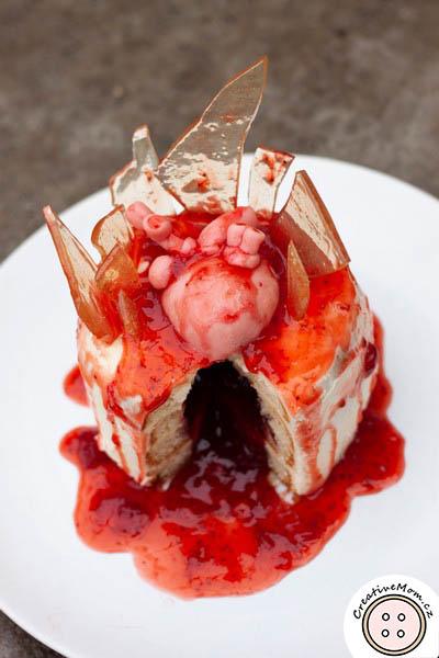 bloody valentine cake