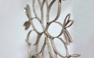recycled snowflakes