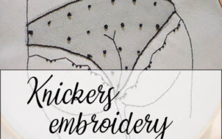 embroidery knickers