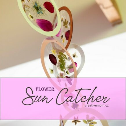 Flower sun catcher