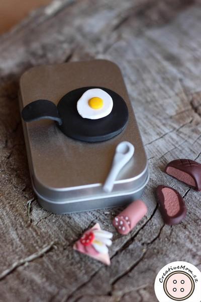 DIY Travel Toy - Miniature Magnetic BREAKFAST