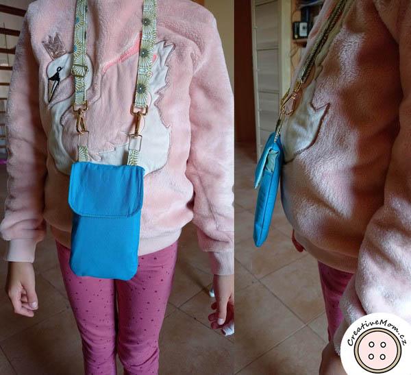 diy cellphone bag